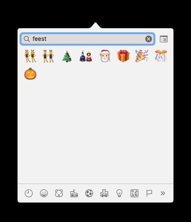 iPhone emoji zoeken