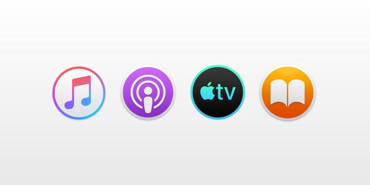 Muziek, podcasts, tv, boeken
