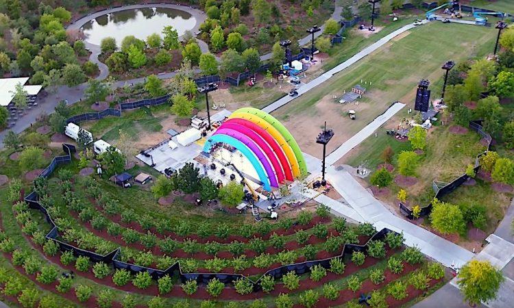 Apple Park regenboog