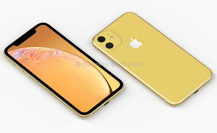 nieuwe iPhone XR ontwerp