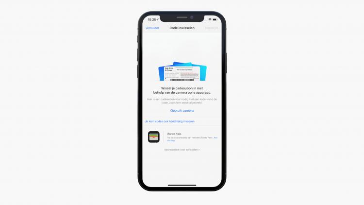 App Store tegoed