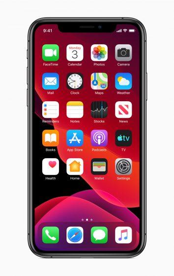 iOS 13 thuisscherm