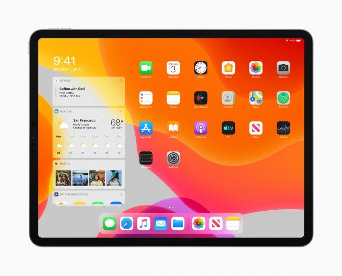 iPadOS ondersteuning