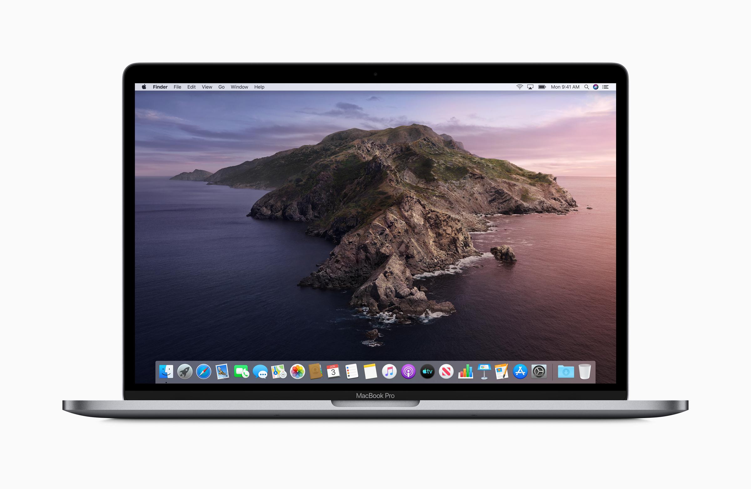 Mac os catalina on 2015 macbook pro