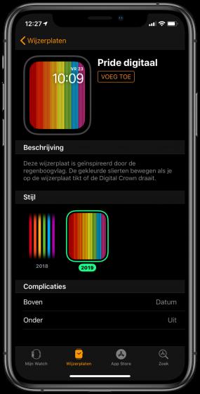 Apple Watch Pride Wijzerplaat