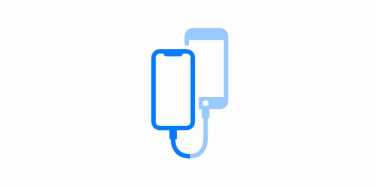 iPhone data overzetten kabel