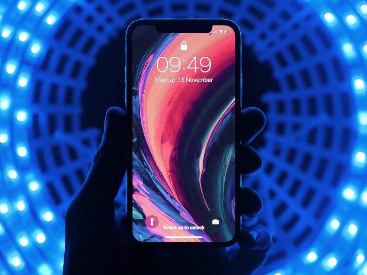 iPhone futuristisch