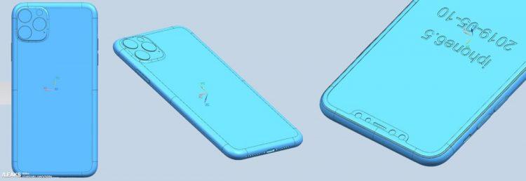 iPhone XI Max CAD-tekening