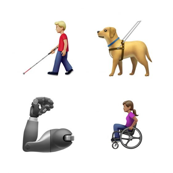nieuwe emoji 2019 beperking