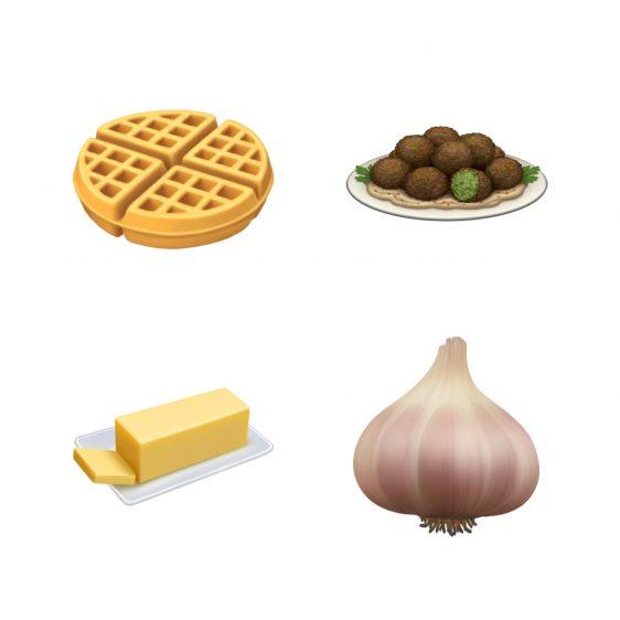 nieuwe emoji 2019 apple eten