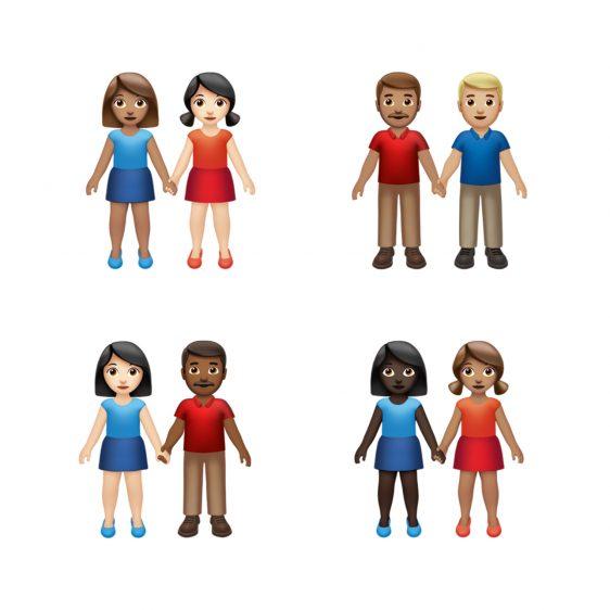 hand in hand emoji