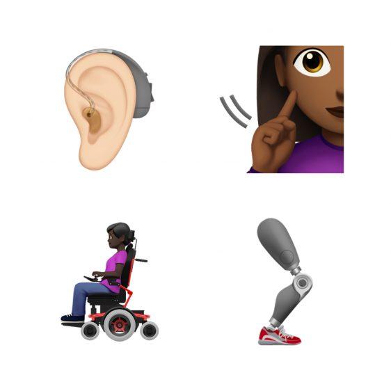 nieuwe emoji 2019 handicap