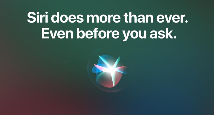 Siri luistert mee