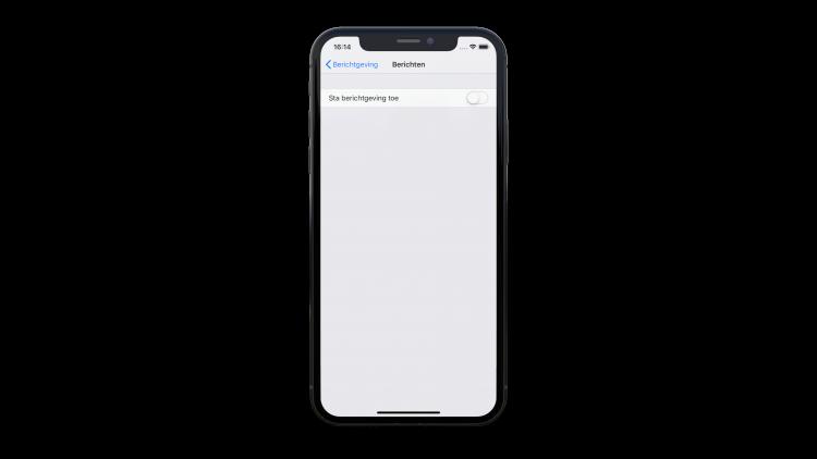iPhone vakantiemodus