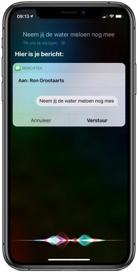 Siri bericht