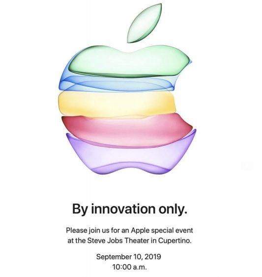 Apple event september 2019