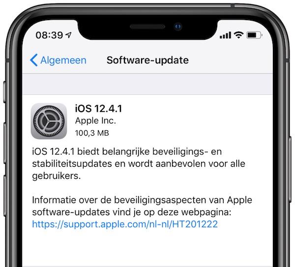 iOS 12.4.1
