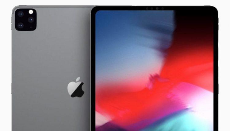Nieuwe iPad Pro 2019 drie camera's