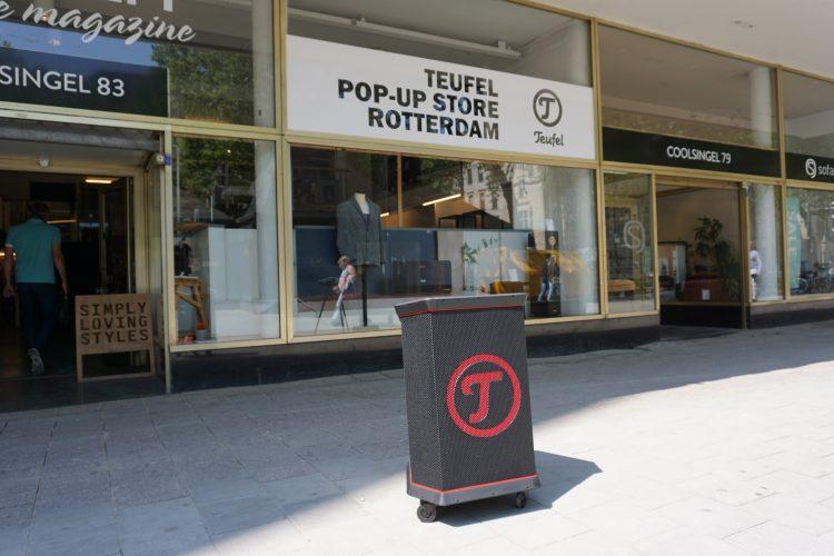 Pop-up store Teufel