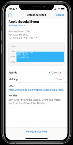 Apple event 2019 date