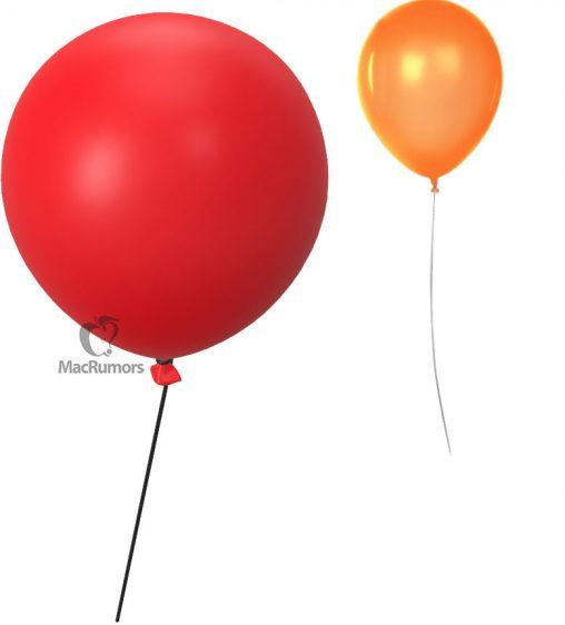 Apple Tag ballon