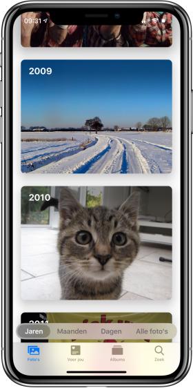 nieuwe functies iOS 13 Foto's hoofdfoto