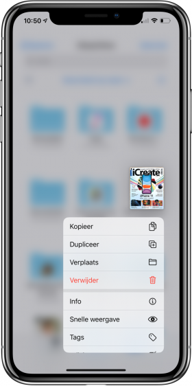 nieuwe functies iOS 13 snelle weergave