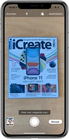 nieuwe functies iOS 13 scanner
