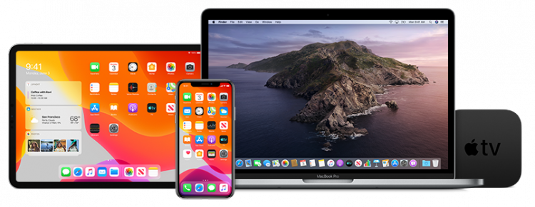 Apple besturingssystemen