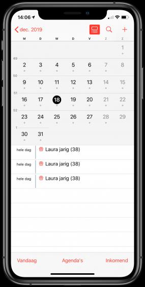 iOS 13 problemen verjaardag