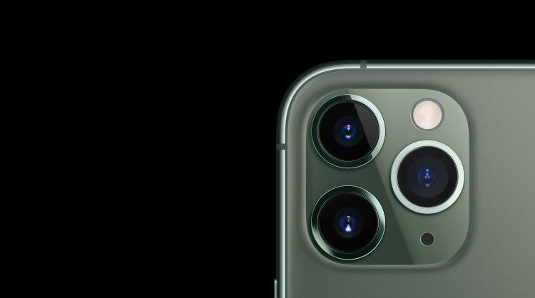 drie camera's iPhone