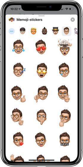 nieuwe functies iOS 13 memoji-stickers