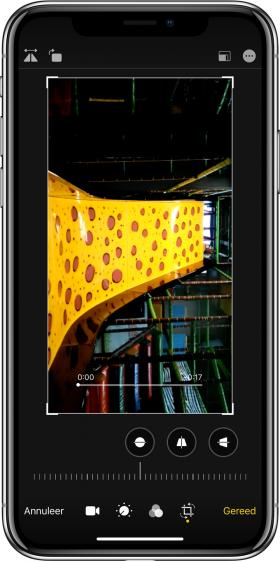 nieuwe functies iOS 13 video's kantelen