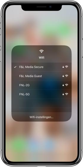 nieuwe functies iOS 13 wifi-netwerk wisselen