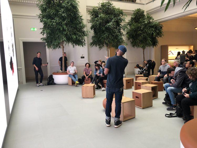 Apple Amsterdam heropend