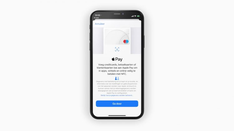 Apple Pay instellen iPhone
