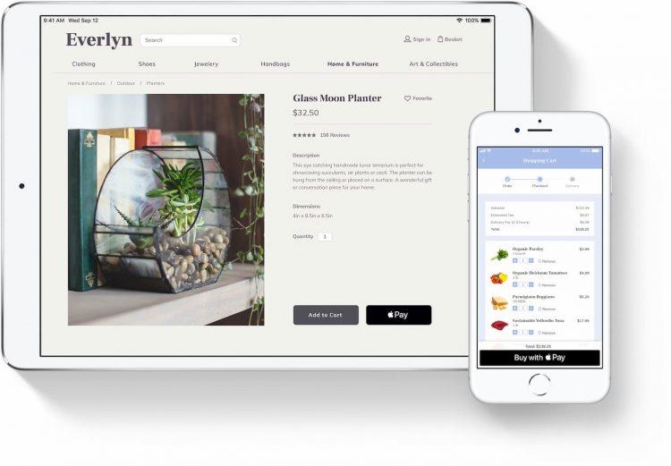 Apple Pay webshop