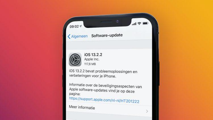 iOS 13 probleem