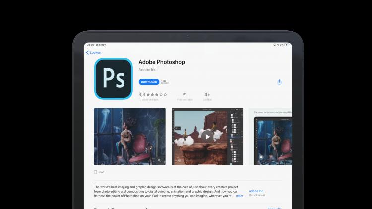 Photoshop voor de iPad