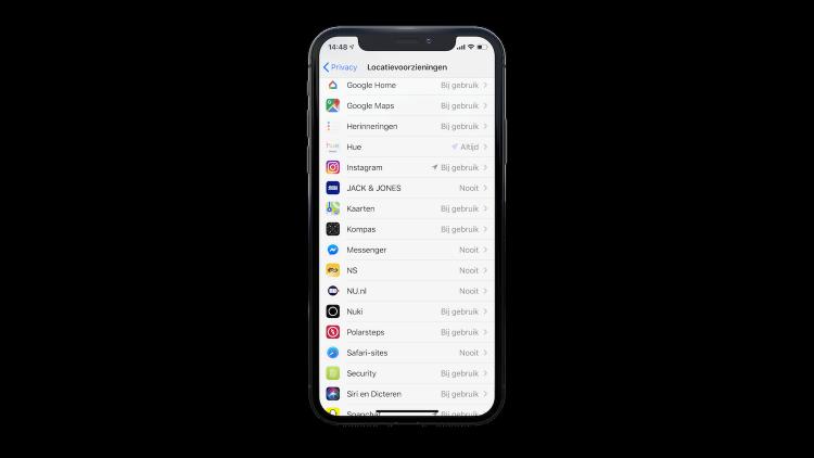 iPhone batterijduur