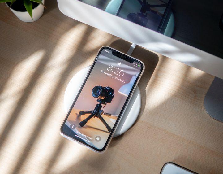 iPhone opladen draadloos