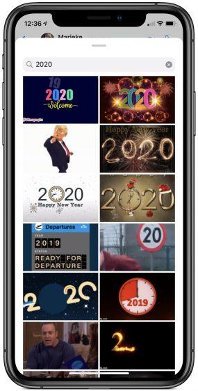 Nieuwjaarswens 2020 Whatsapp