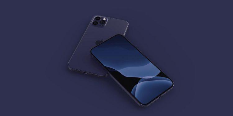iPhone 12 blauw concept