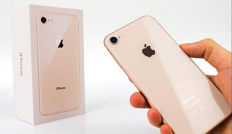 iPhone 8 verpakking