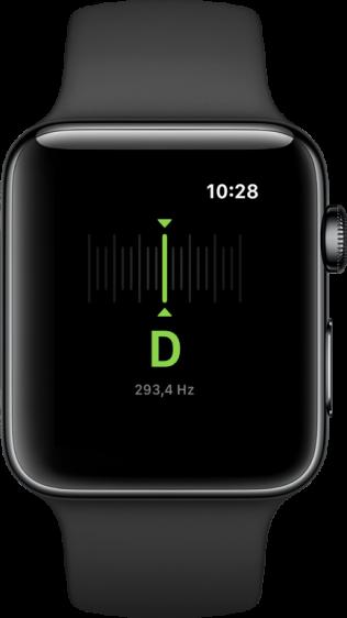 Cifra Club Tuner Apple Watch