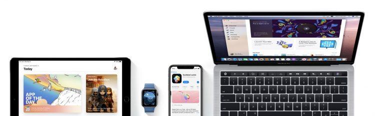 App Store universele apps