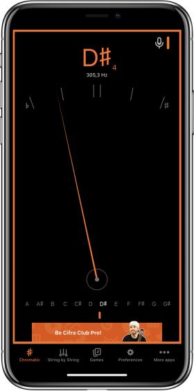 Cifra Club Tuner iPhone