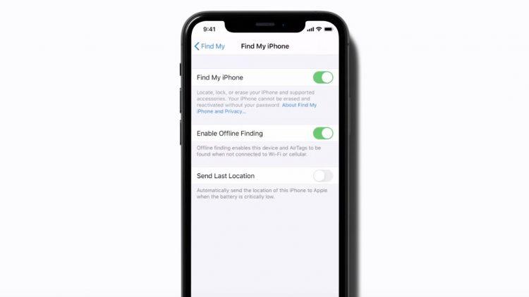 Apple AirTag tracker