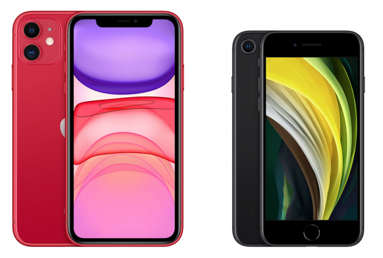 iPhone SE of iPhone 11