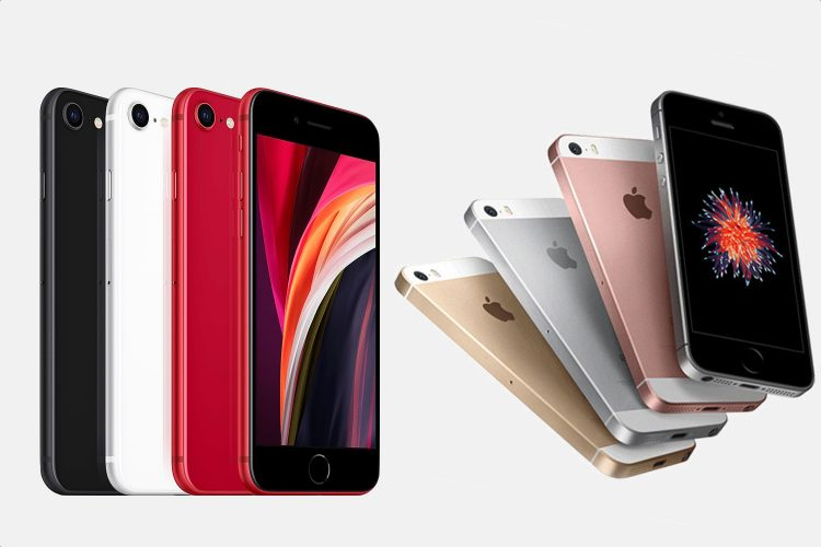iPhone SE 2020 vs 2016